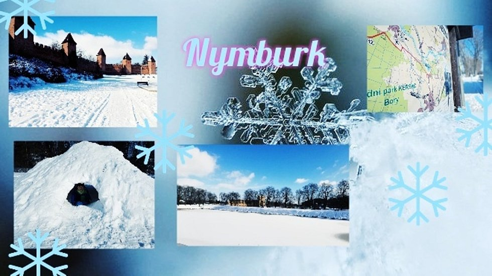 Jedním z úkolů, který Marek Velechovský svým žákům zadal, bylo vytvoření pohlednic města či obce, ve které žijí, v době, kdy byly zasněžené.
