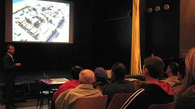 Firma MS Development představila veřejnosti projekt zástavby pozemků po bývalé Frutě.