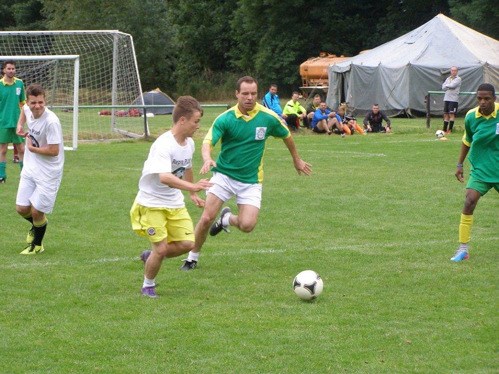Z turnaje Praga cup v malé kopané konaném na hřišti v Milovicích