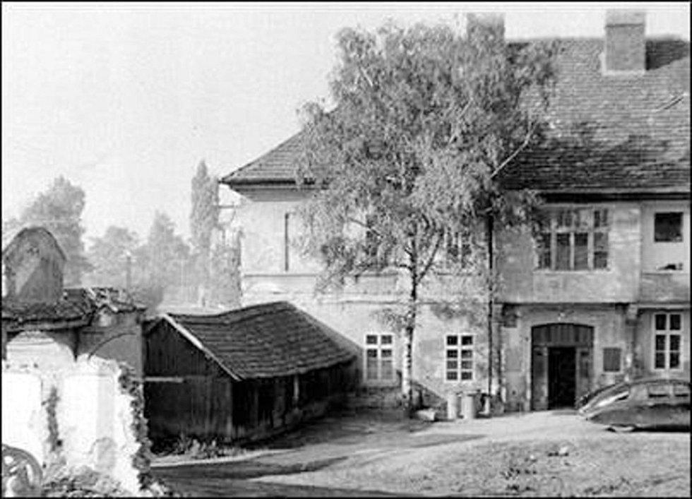 Dům, v němž Božena Němcová s rodinou v Nymburce bydlela.