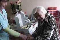 Helena Koderičová žije na zámku už 50 let