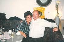 Josef Jína s Jitkou Zelenkovou v roce 1998.