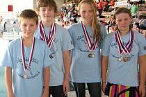 Plavci Lokomotivy měli medailové žně
