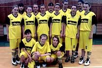 Mladé basketbalistky Sadské si zahrají na mistrovství republiky.