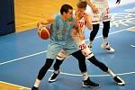 Z basketbalového utkání Kooperativa NBL Nymburk - Olomoucko (99:73)