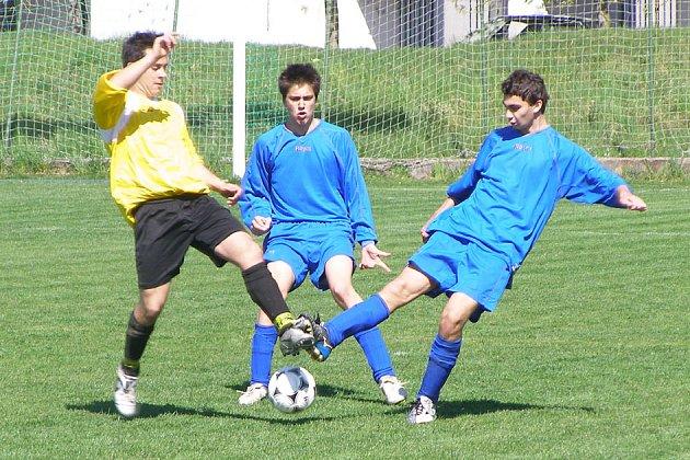 Starší dorost Nymburka vyhrál 3:0.