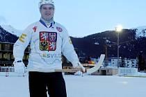 Jiří Končák z Kovanic reprezentoval Českou republiku v bandy hokeji