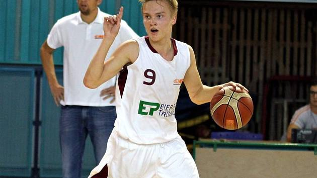 Basketbalista Martin Holoubek
