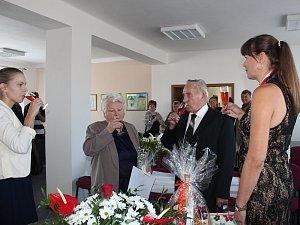 Manželé Hlavičkovi oslavili pětašedesát let společného života