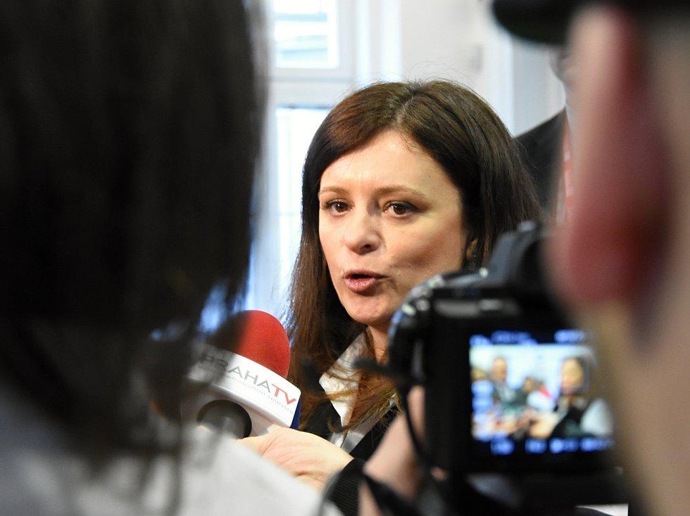 Hejtmanka Jaroslava Pokorná Jermanová (ANO).