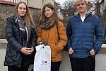 Renáta Trnková, Nikola Havěrníková a Libor Pošepný z lyské obchodní akademie uspěli v celostátním kole soutěže Ekonomický tým.
