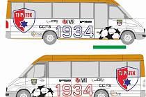 Pátečtí fotbalisté předvedou na oslavách svůj nový autobus