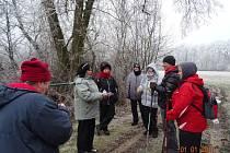 1. ročník Novoroční procházky na Mydlovar