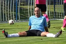 Václav Rathouský, fotbalový brankář, který vzpomíná hlavně na svá angažmá v Litoli a Čelákovicích
