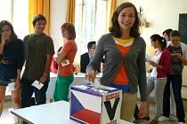 Studentské volby na nymburském gymnáziu