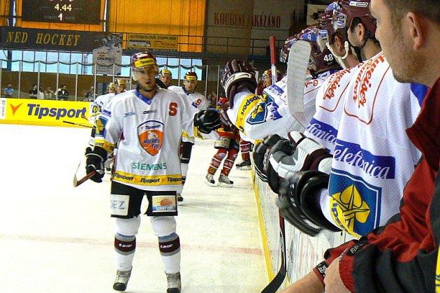 Nymburk viděl zápas dvou finalistů minulého ročníku Tipsport extraligy mezi Spartou a Pardubicemi. Zápas skončil lépe pro Spartu.Vyhrála 4:3.