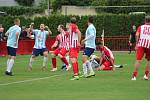Z divizního fotbalového utkání Kutná Hora - Poříčany