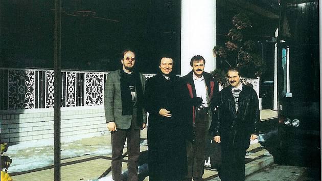 Na zaoceánské výpravě v Atlantě v roce 1996.