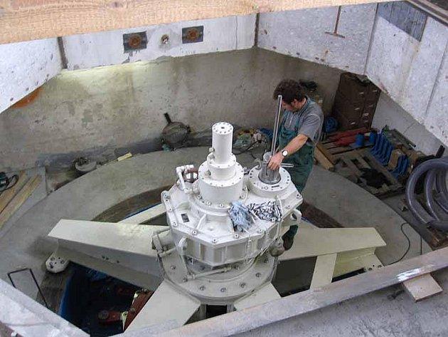 Hydroelektrárna. Ilustrační foto