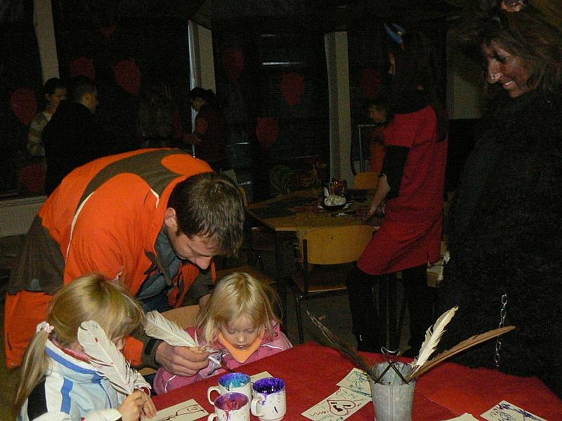Děti se vyřádily na Vánočním jarmarku