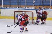 Z utkání play off druhé ligy Jablonec nad Nisou - Nymburk (3:1)