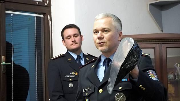 V muzeu se konala beseda s policejním radou Markem Šmídem.