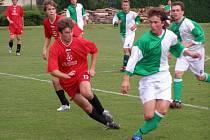 Týmy fotbalového okresního přeboru sehrály další přípravné zápasy.