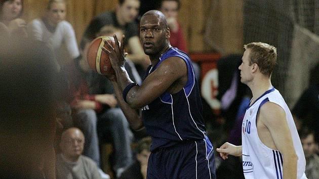 V basketbalového střetnutí Mattoni NBL Poděbrady - Kolín (80:82)