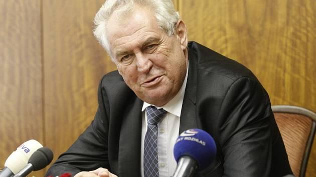 Prezident Miloš Zeman navštíví v rámci návštěvy Středočeského kraje i Nymburk.