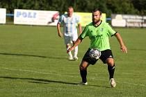 Z fotbalového utkání I.B třídy Sadská - Milovice (3:3)