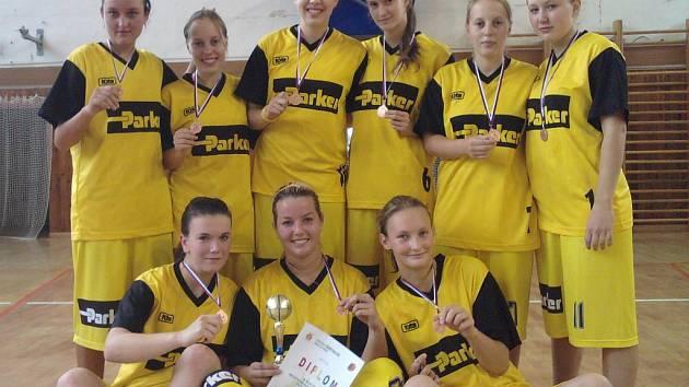 Mladé košíkářky Sadské byly v Ostravě úspěšné
