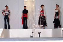Závěrečná módní přehlídka na Výstavišti v Lysé