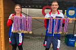 Ve Speciální základní škole Poděbrady oslavili 100. výročí také paralympiádou a s olympionikem Petrem Fuksou. Foto: Speciální základní škola
