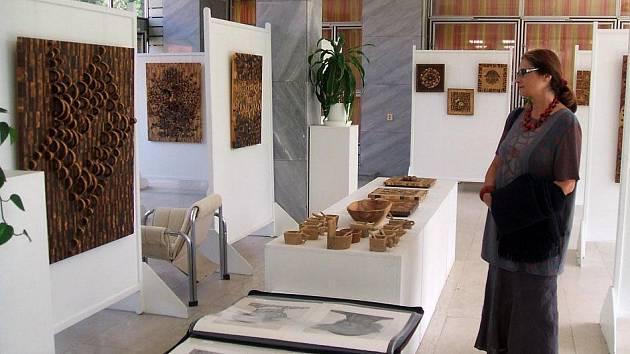 Výstava Viktora Konečného v Galerii Ludvíka Kuby v Poděbradech
