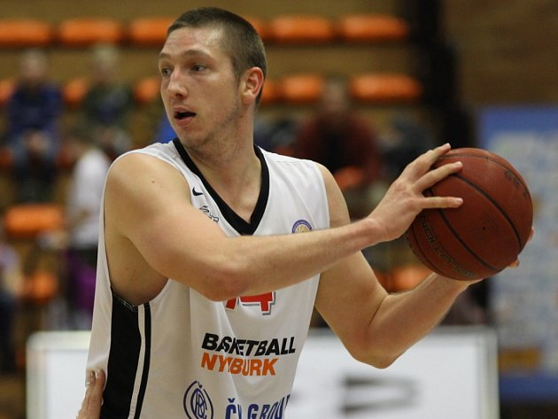 Z basketbalového utkání VTB ligy Nymburk - Cmoki Minsk (75:61)