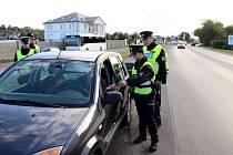 Policejní akce v Sadské.