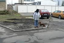 Velmi nebezpečná ulice Generála A. Sochora na nymburském sídlišti