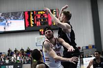 Z basketbalového utkání Ligy mistrů Nymburk - Nižnyj Novgorod (76:72)