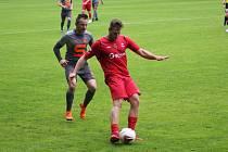 Z fotbalového turnaje Sokoleč cup Slovan Poděbrady - Velim (2:2, PK: 4:3)