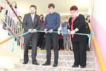 Slavnostní otevření nových prostor v Základní škole Komenského v Lysé nad Labem spojené s dnem otevřených dveří.