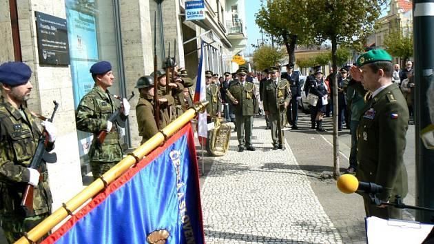 Pietní akce ke konci druhé světové války v Poděbradech