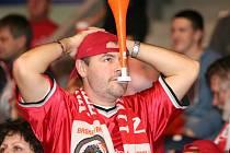 Diváci už netrpělivě čekají na další mač nymburských basketbalistů v poháru ULEB