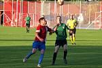 Z fotbalového utkání I.B třídy Pátek - Rožďalovice (2:2)
