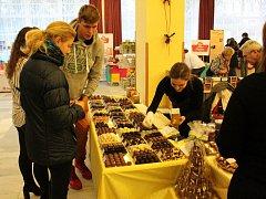 Čokoláda zcela obsadila kongresové centrum v Poděbradech.