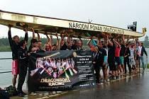 Nymburská posádka dostala za první místo v Národním poháru zlatou loď
