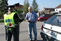 Studenti policejní akademie kontrolovali řidiče v Sadské