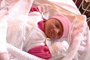 ADRIANA PILAŘOVÁ se narodila 25. prosince 2017 v 7.41 hodin s výškou 48 cm a váhou 3 300 g. Radují se z ní rodiče David a Lenka a bráška Dominik (2) z Činěvse.