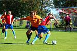 Z fotbalového utkání I.B třídy Pátek - Sokoleč (0:1)