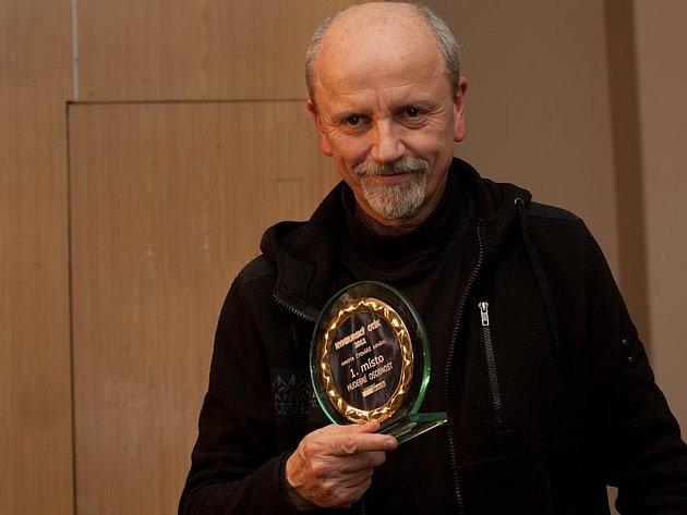 Jan Neckář byl zvolen jako Hudební osobnost v anketě Nymburský Otík 2012.