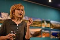 Novinářka Petra Procházková měla inspirativní přednášku v Hálkově divadle.